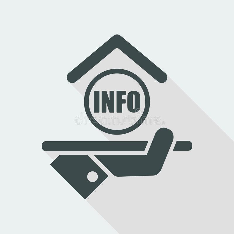 Icono del hotel info libre illustration