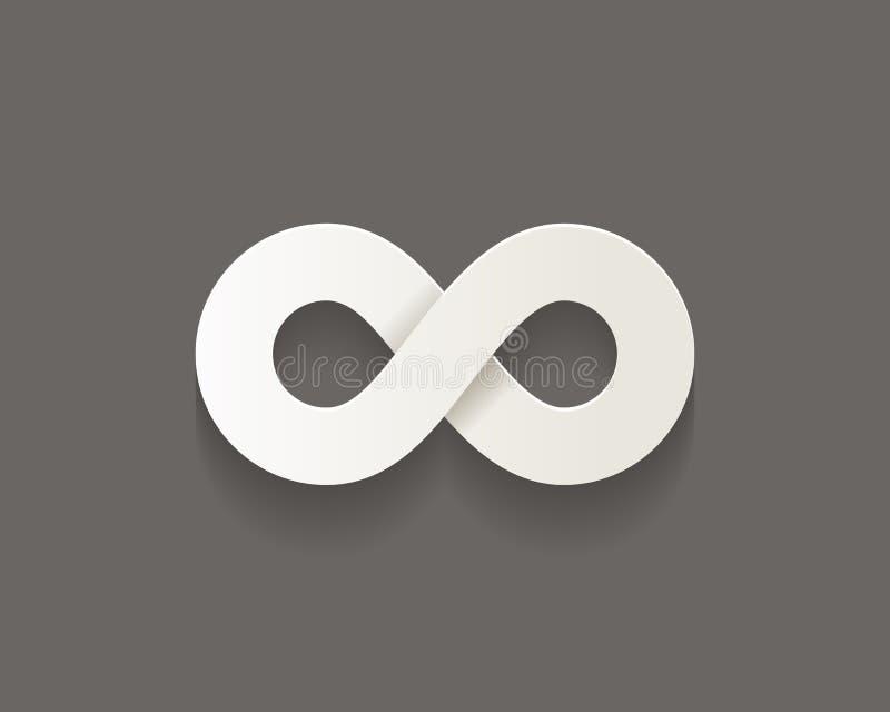 Icono del infinito libre illustration
