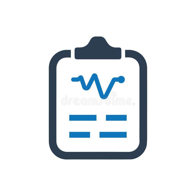 Icono del informe médico libre illustration