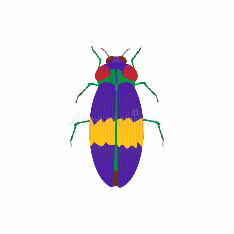 Icono del insecto, estilo de la historieta libre illustration