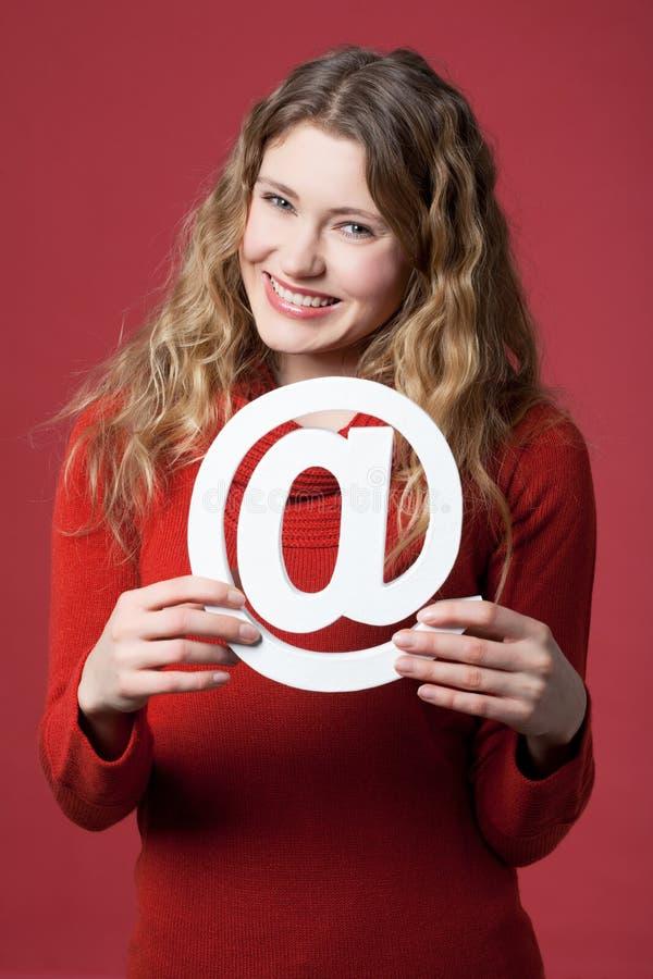 Icono del Internet imagenes de archivo
