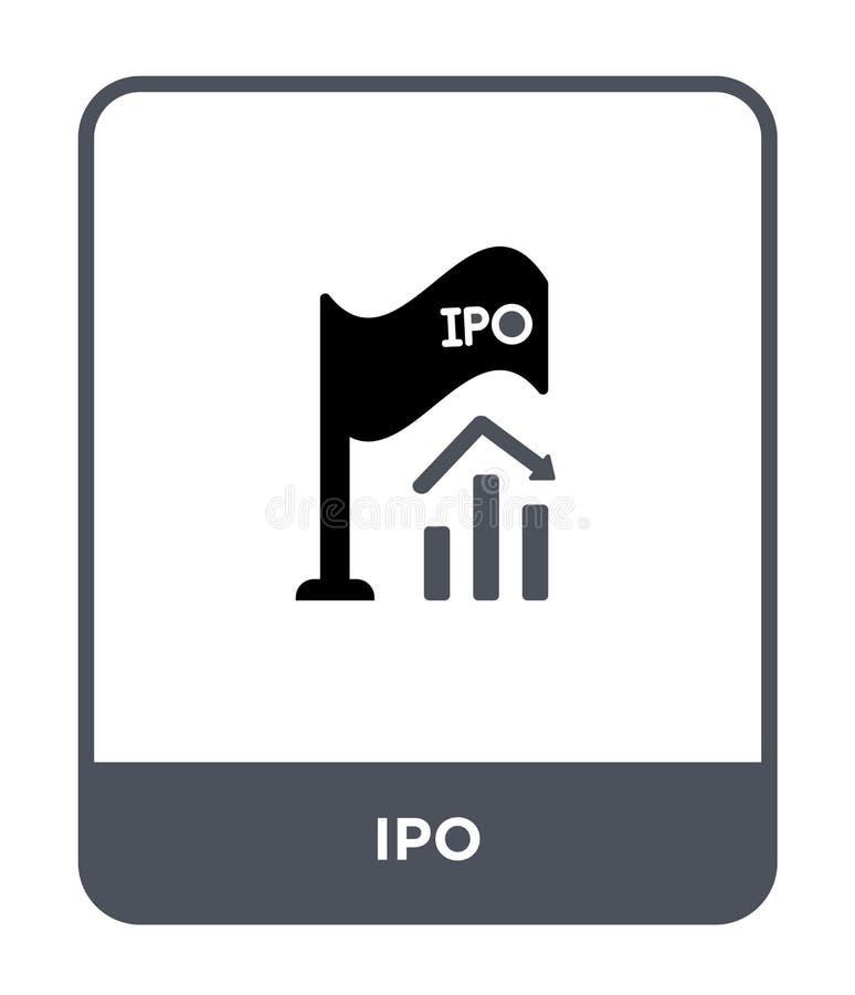 icono del ipo en estilo de moda del diseño icono del ipo aislado en el fondo blanco símbolo plano simple y moderno del icono del  ilustración del vector