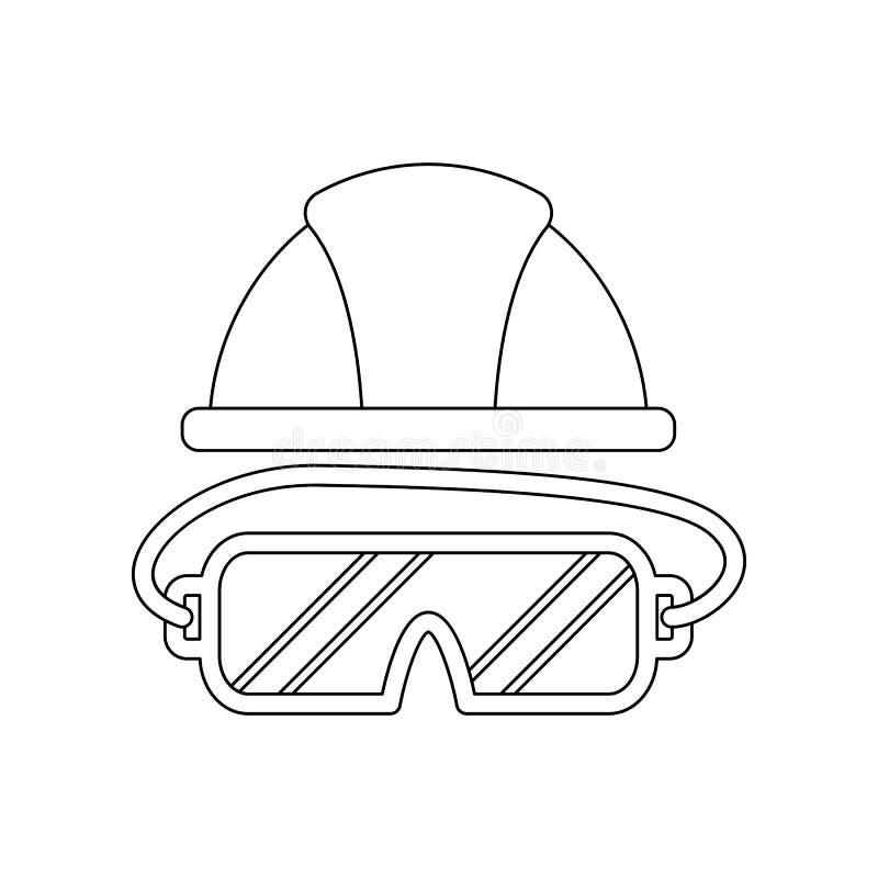 icono del Jack-avi?n del color Elemento de las herramientas de la construcci?n para el concepto y el icono m?viles de los apps de stock de ilustración