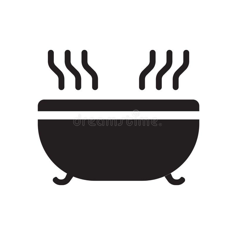 icono del Jacuzzi  stock de ilustración