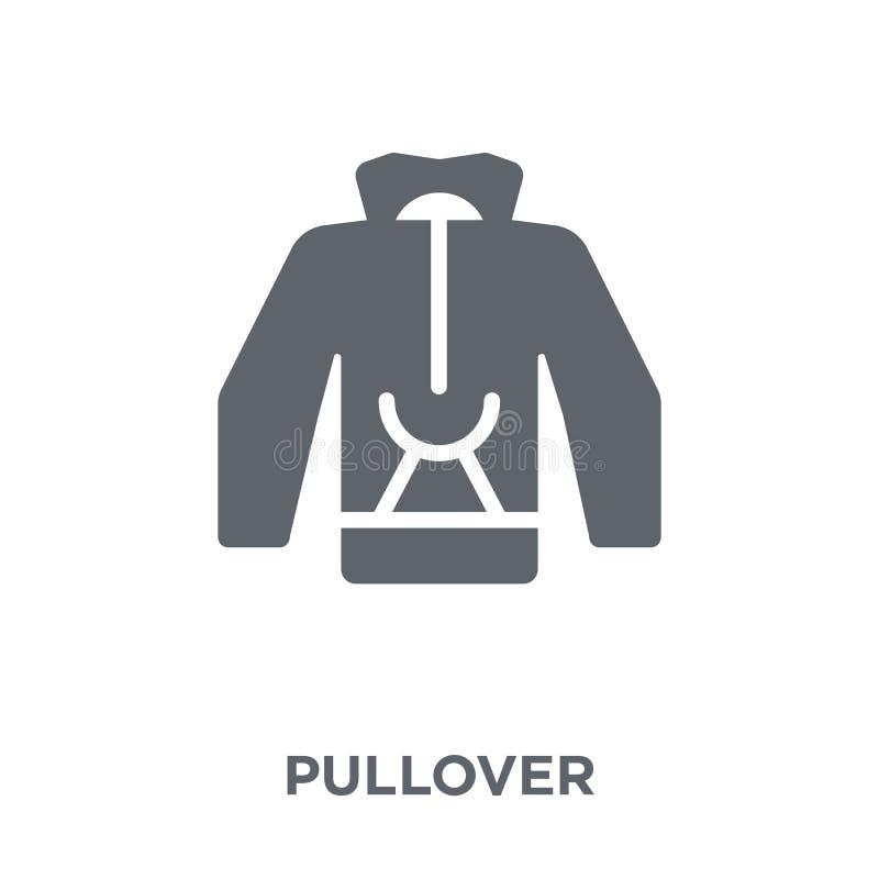 Icono del jersey de la colección de la ropa ilustración del vector