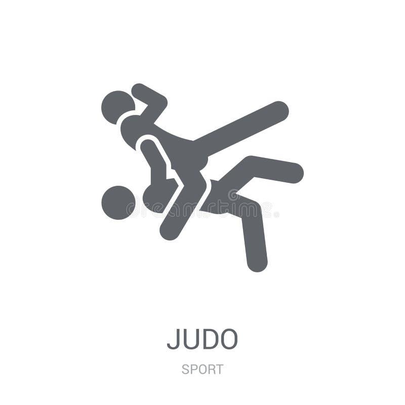 icono del judo  libre illustration