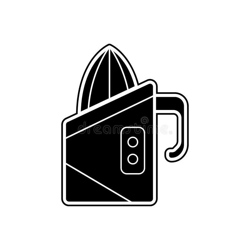Icono del Juicer Elemento de los dispositivos para el concepto y el icono móviles de los apps de la web Glyph, icono plano para e libre illustration