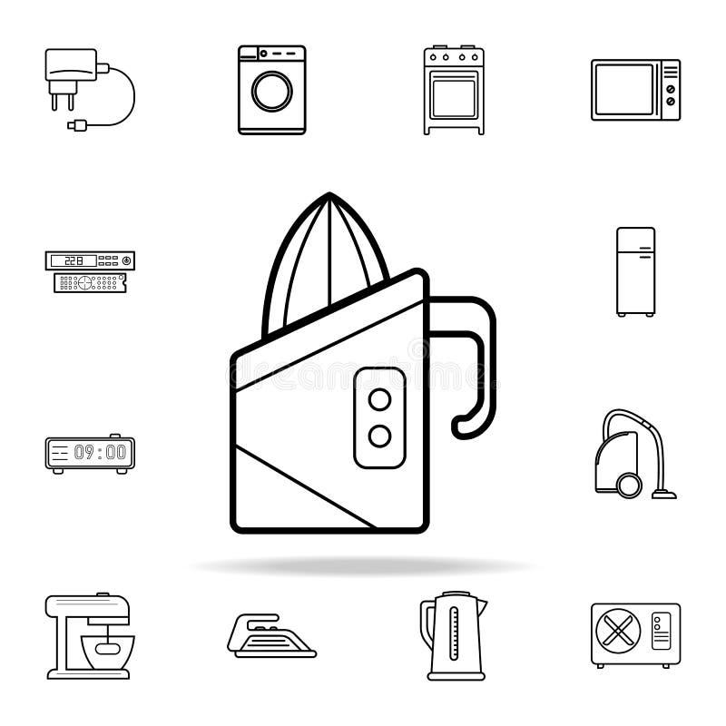 Icono del Juicer Sistema universal de los iconos de los dispositivos para el web y el móvil libre illustration