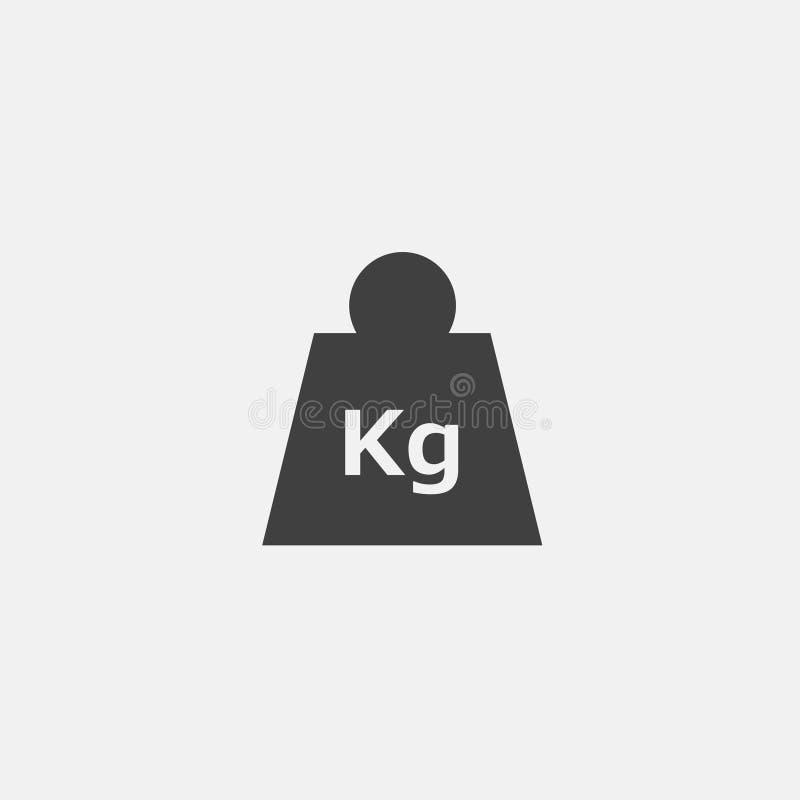 icono del kilogramo stock de ilustración