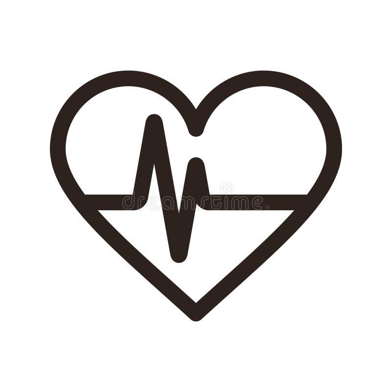Icono del latido del corazón libre illustration