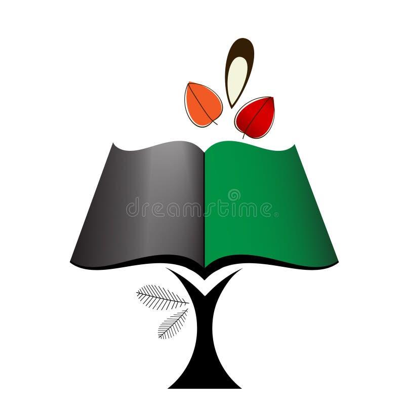 Icono del libro del árbol libre illustration