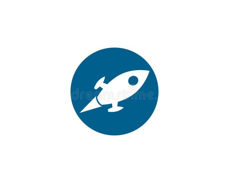 icono del logotipo del cohete libre illustration