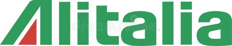 Icono del logotipo de las líneas aéreas de Alitalia libre illustration
