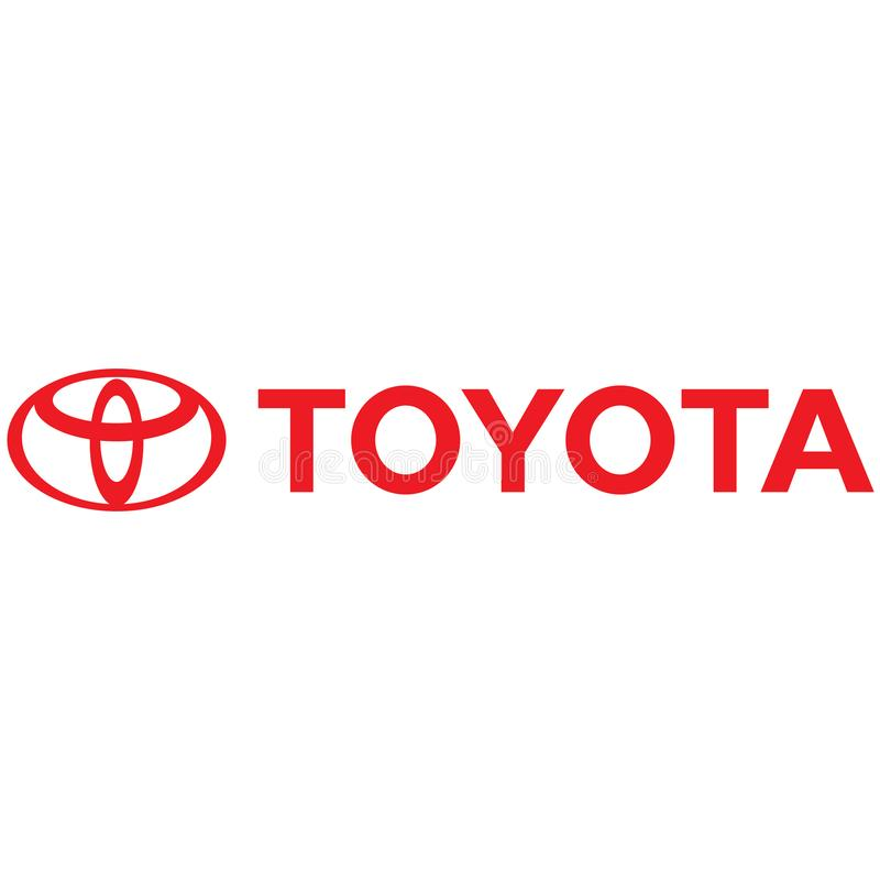 Icono del logotipo de Toyota ilustración del vector