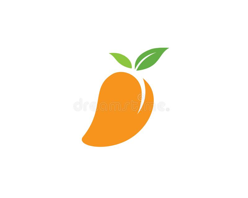Icono del logotipo del vector del mango libre illustration