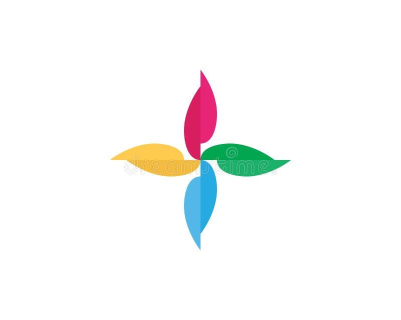 Icono del loto del vector de la belleza libre illustration