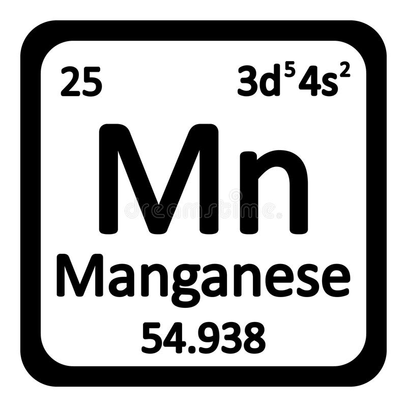 Icono del manganeso del elemento de tabla peridica stock de download icono del manganeso del elemento de tabla peridica stock de ilustracin ilustracin de ilustracin urtaz Images