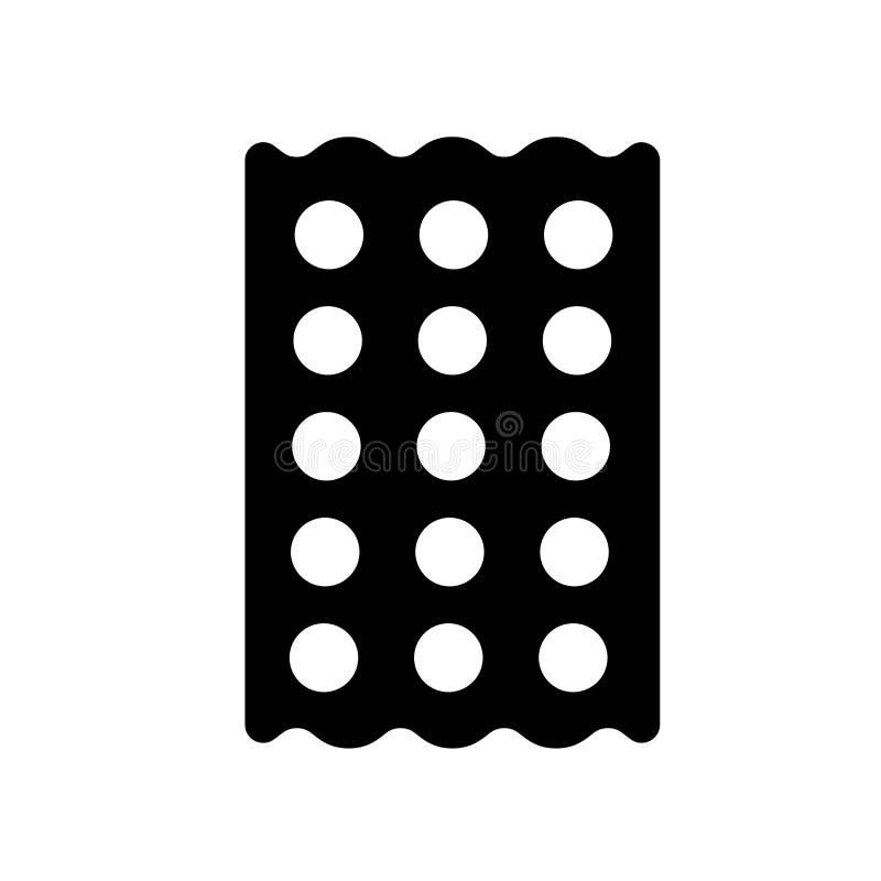 Icono del Matzo  stock de ilustración