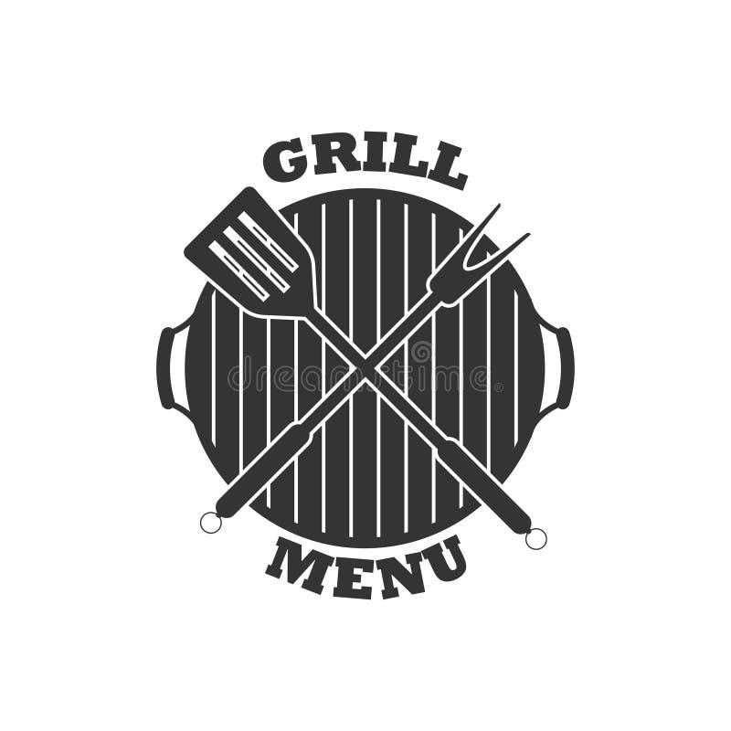 Icono del menú de la parrilla del vector Aislado en el fondo blanco libre illustration