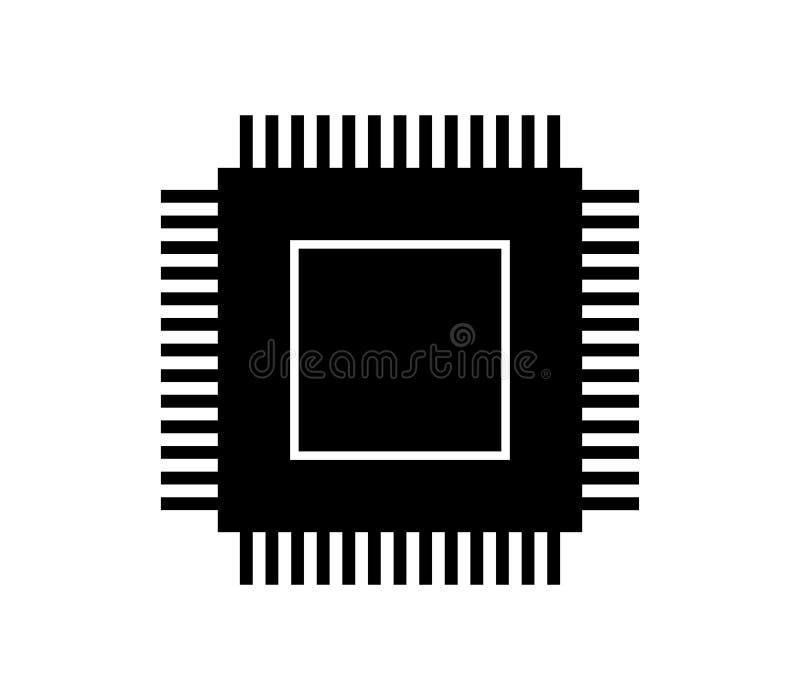 Icono del microprocesador libre illustration