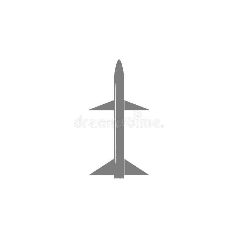 Icono del misil libre illustration