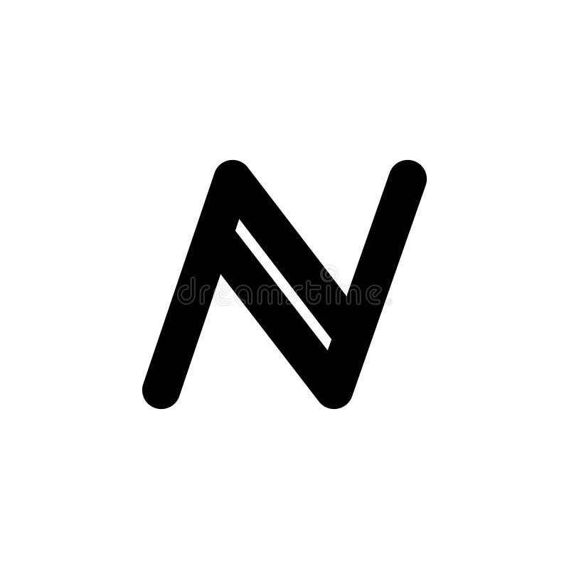 icono del namecoin Elemento del icono Crypto de la moneda para los apps móviles del concepto y del web El icono detallado del nam stock de ilustración