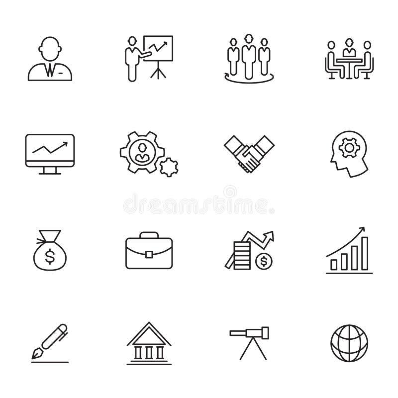 Icono del negocio, vector ilustración del vector