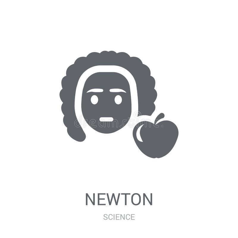 icono del neutonio  ilustración del vector