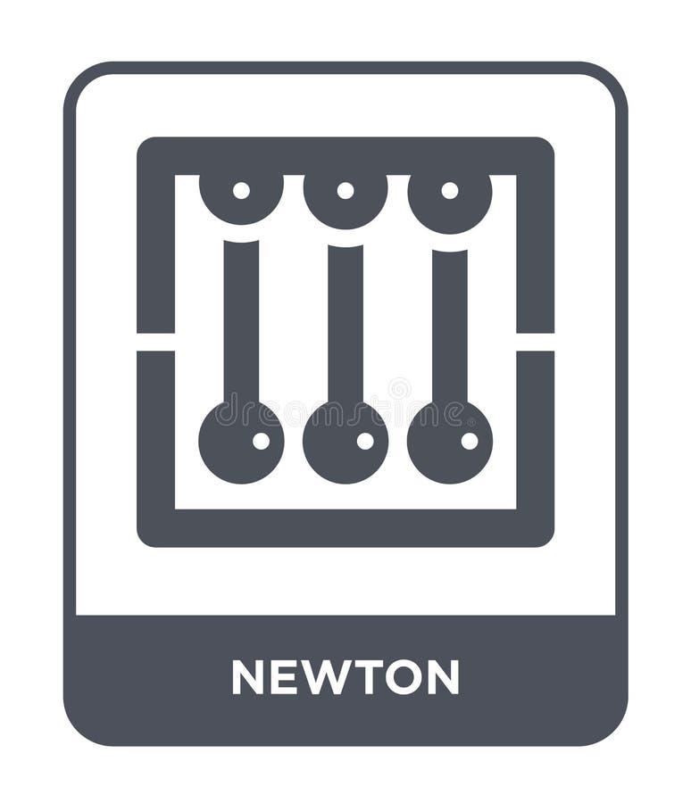 icono del neutonio en estilo de moda del diseño icono del neutonio aislado en el fondo blanco símbolo plano simple y moderno del  ilustración del vector