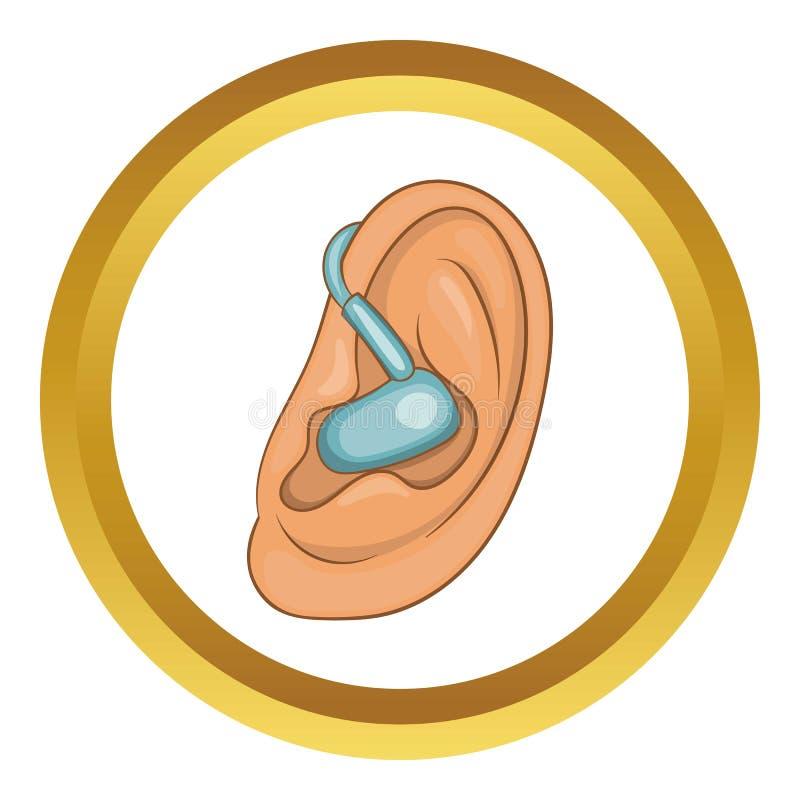 Icono del oído de la audiencia libre illustration