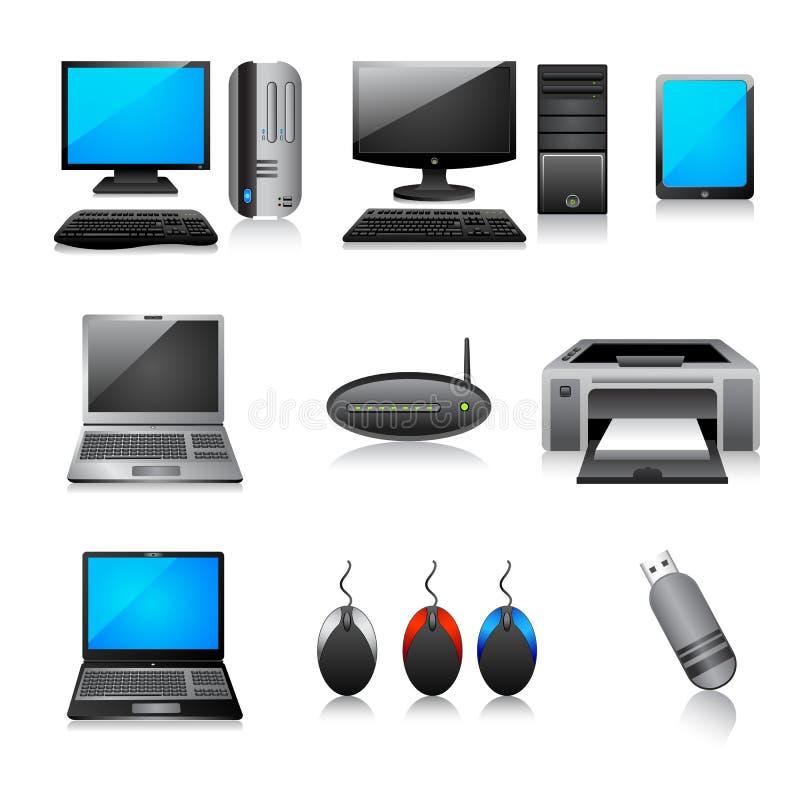 Icono del ordenador libre illustration