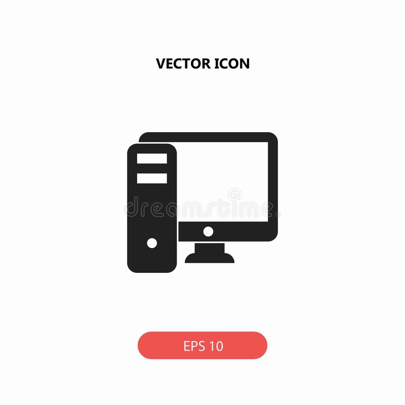Icono del ordenador fotos de archivo libres de regalías