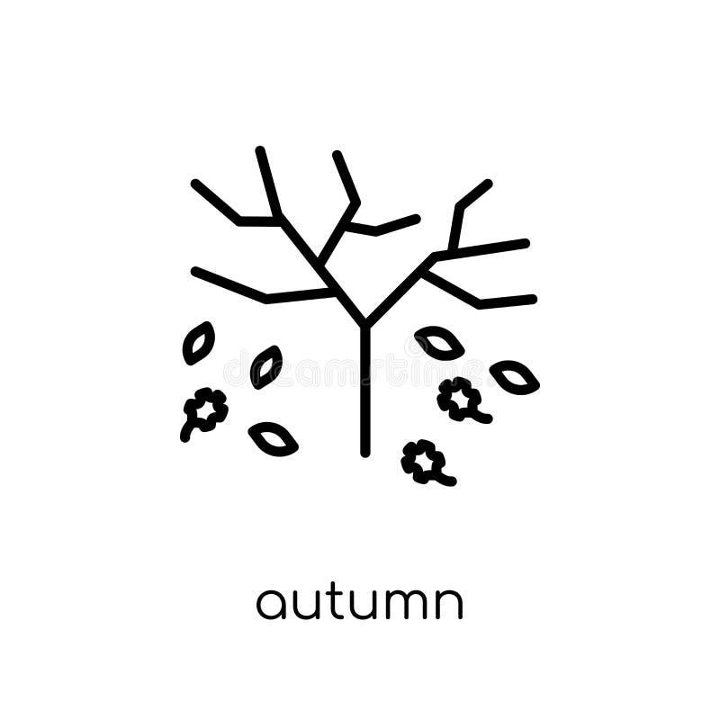 Icono del otoño de la colección ilustración del vector