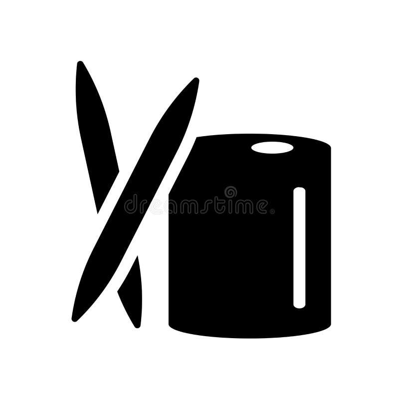 Icono del palillo  stock de ilustración