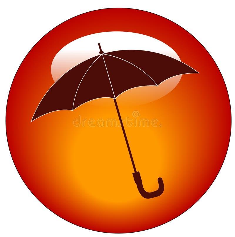 Icono del paraguas libre illustration