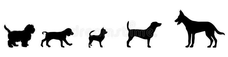 Icono del perro libre illustration