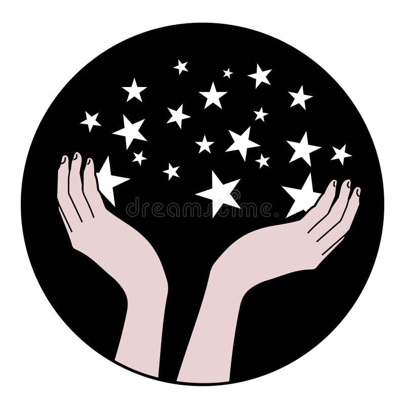 Icono del planetario ilustración del vector