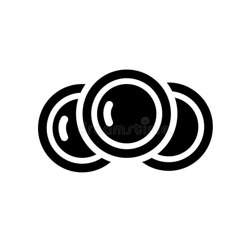 Icono del plato  ilustración del vector