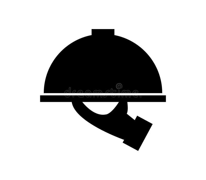 Icono del plato de porción libre illustration