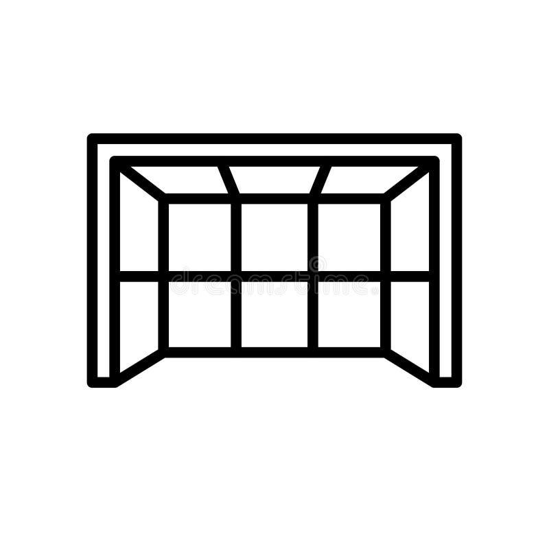 Icono del poste símbolo simple del deporte del estilo del esquema del ejemplo libre illustration