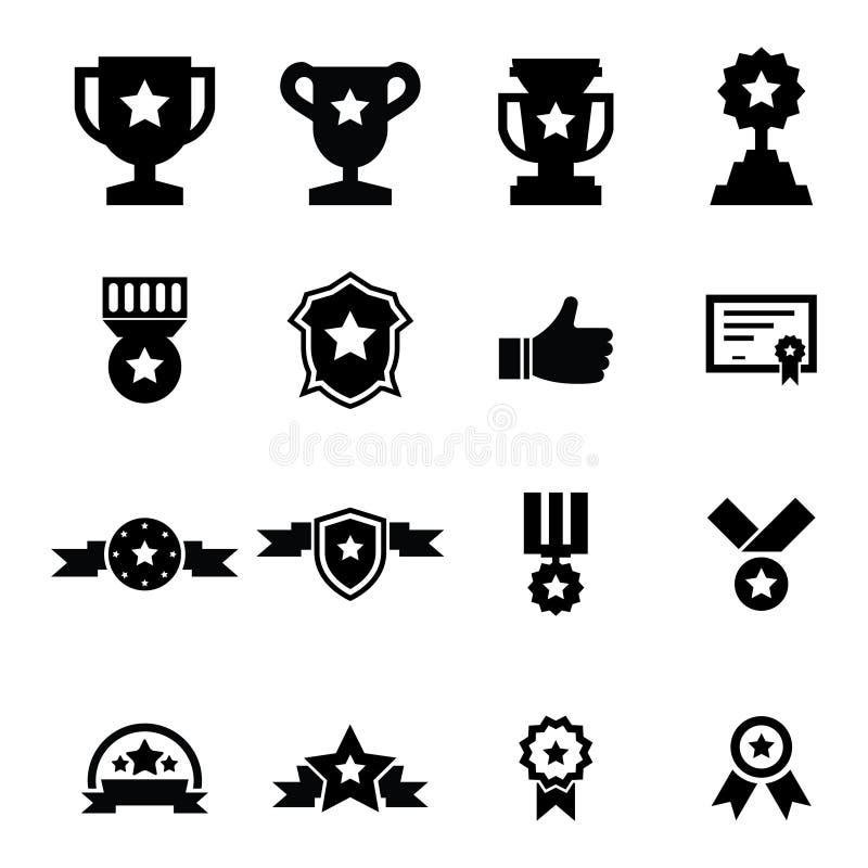 Icono del premio ilustración del vector