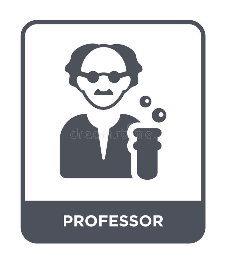 icono del profesor en estilo de moda del diseño Icono del profesor aislado en el fondo blanco plano simple y moderno del icono de ilustración del vector