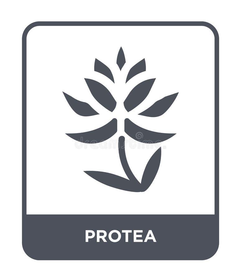 icono del protea en estilo de moda del diseño icono del protea aislado en el fondo blanco símbolo plano simple y moderno del icon libre illustration