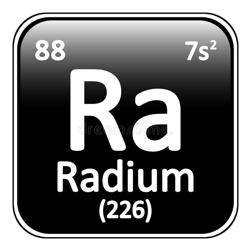 Icono del radio del elemento de tabla peridica stock de ilustracin download icono del radio del elemento de tabla peridica stock de ilustracin ilustracin de mendeleev urtaz Images