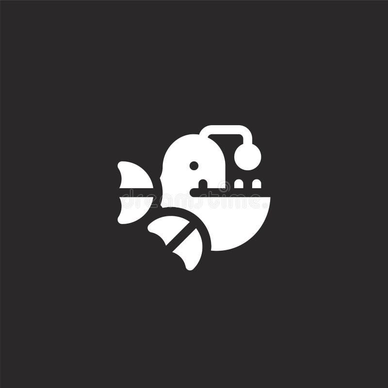 icono del rape Icono llenado del rape para el diseño y el móvil, desarrollo de la página web del app icono del rape a partir de l stock de ilustración