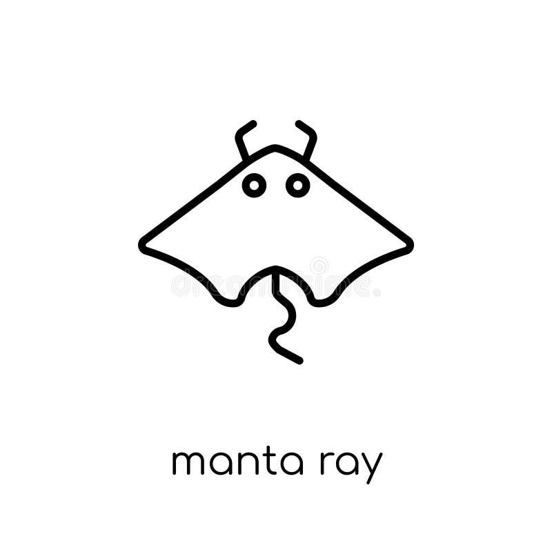 Icono del rayo de Manta  libre illustration