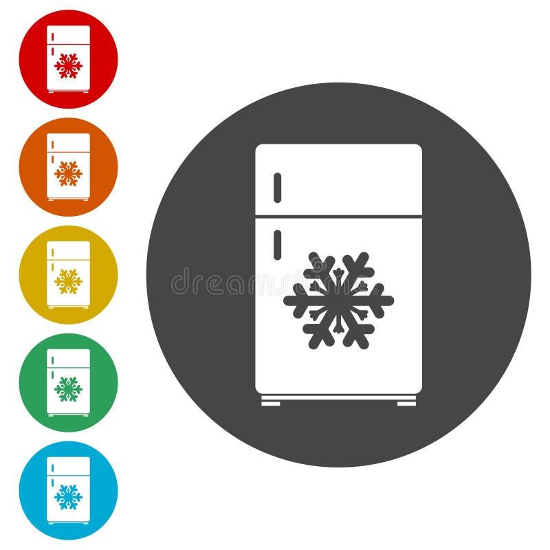 Icono del refrigerador Muestra del refrigerador libre illustration