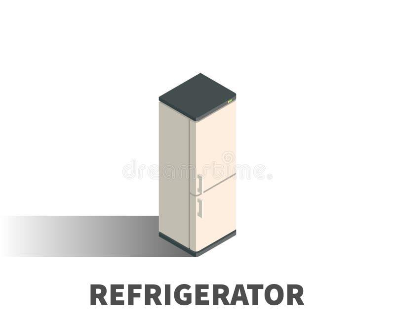 Icono del refrigerador, símbolo del vector libre illustration