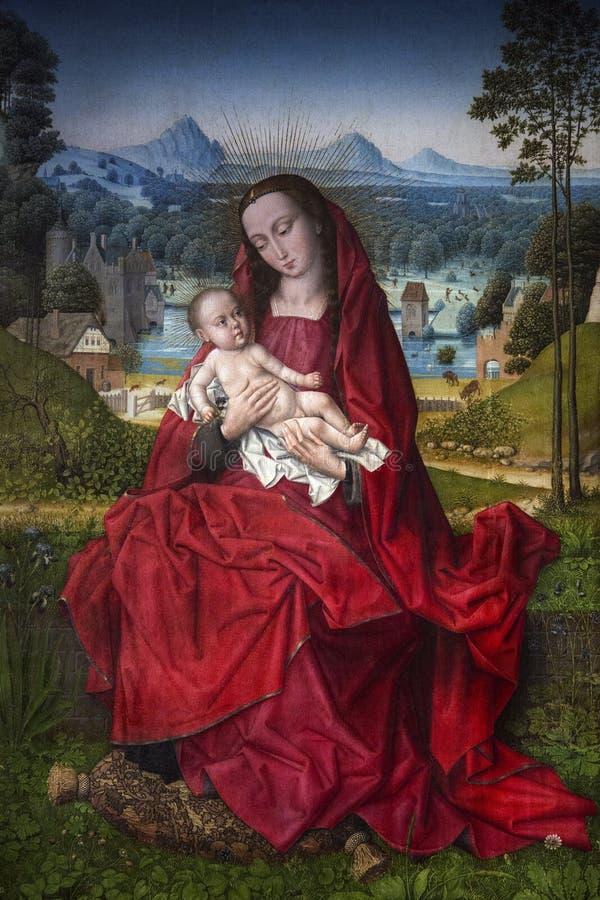 Icono del renacimiento - catedral de Burgos - España imágenes de archivo libres de regalías