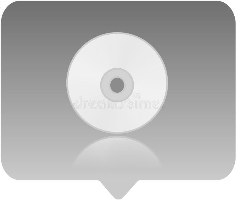 Icono del reproductor multimedia ilustración del vector